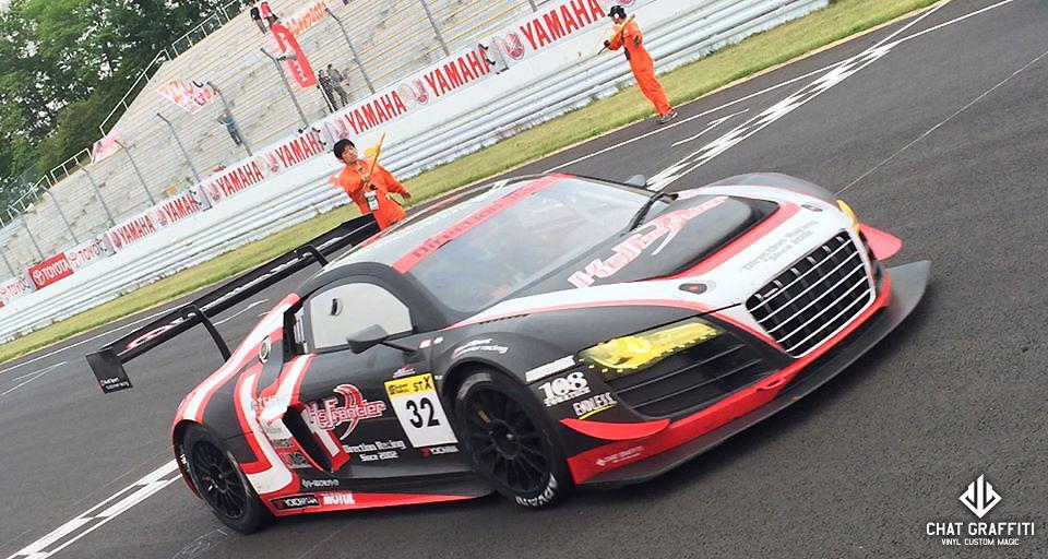 Direction-Racing様レースカー-アウディR8