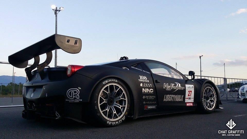 Direction-Racing様レースカー-フェラーリ458